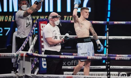 Campbell - Debut win news link picture