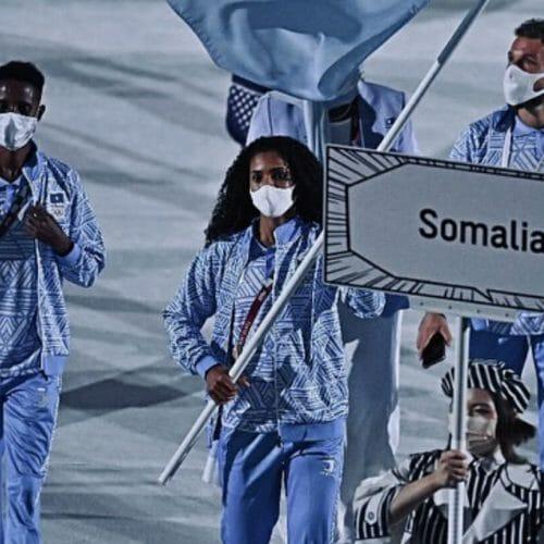 Ramla makes history and represents Somalia at Tokyo 2020